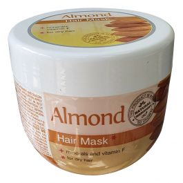 NK005 Almond Hair Mask For a Dry Hair +Minerals,Vitamin F 500ml